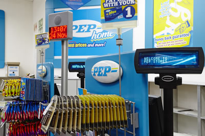 2f7b6a47e6c ... first Pep store outside of South Africa. The expansion soon gained  momentum, and Pepkor Africa is now trading successfully in several African  countries, ...
